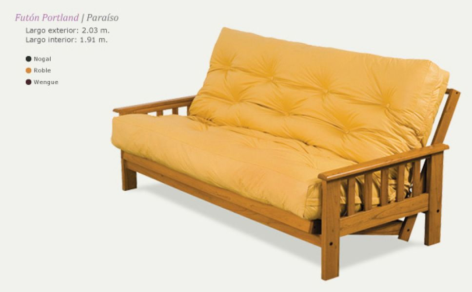 Pin futon sofa cama de 2 plazas super practico 799000 en for Futon de dos plazas